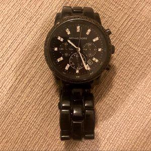 Michael Kors Black Chronograph Watch